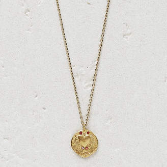 """Maje Necklace """"Mon coeur"""" in gold plated"""