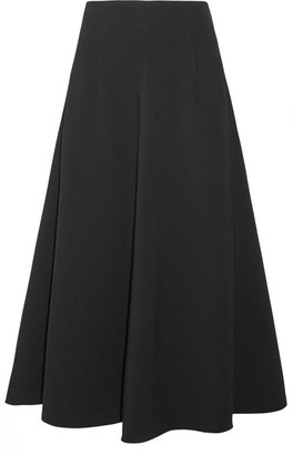 Elizabeth and James - Glendon Stretch-ponte Midi Skirt - Black