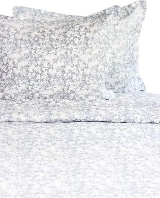 Melange Home 400-Thread Count Cotton 3-Piece Cherry Blossom Duvet Cover Set