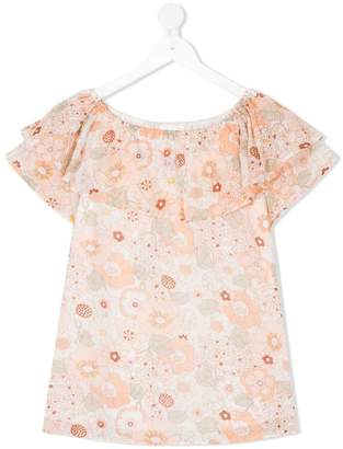 Chloé Kids floral print dress
