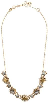 Marchesa stud pendant necklace