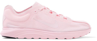 Nike - Mayfly Lite Ripstop Sneakers - Baby pink $110 thestylecure.com