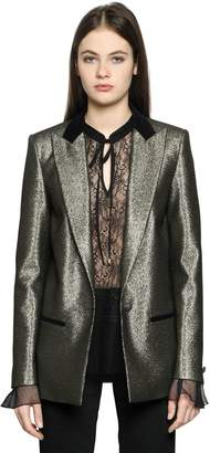 Just Cavalli Laminated Blazer Jacket