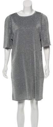 Chanel 2017 Metallic Knee-Length Dress