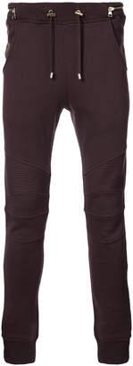 Balmain skinny track trousers