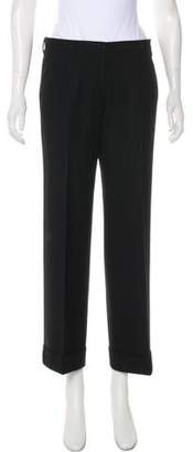 Incotex Wool Mid-Rise Pants