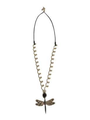 RED Valentino Necklace With Dragonfly Charm