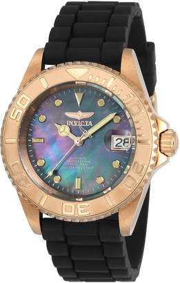 Invicta 23715 Rose Gold-Tone & Black Pro Diver Watch