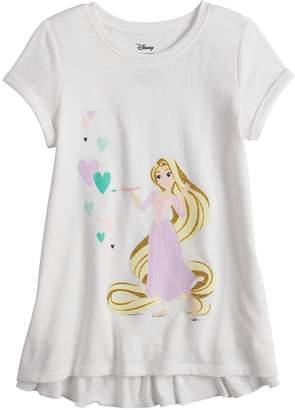 Disneyjumping Beans Disney's Rapunzel Girls 4-10 Ruffle Back Graphic Tee by Disney/Jumping Beans