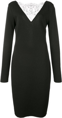 Givenchy lace detailed cocktail dress