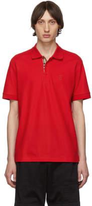 Burberry Red Eddie MJ Wear Polo