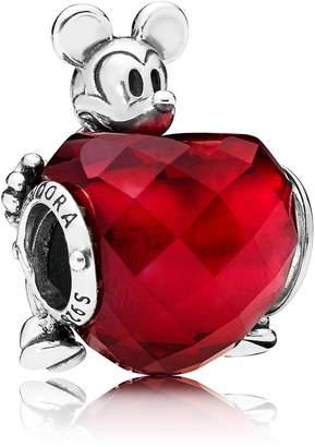 Pandora Disney Mickey Mouse Love Heart Bead Charm