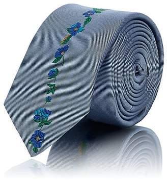 Paul Smith Men's Embroidered Silk Necktie