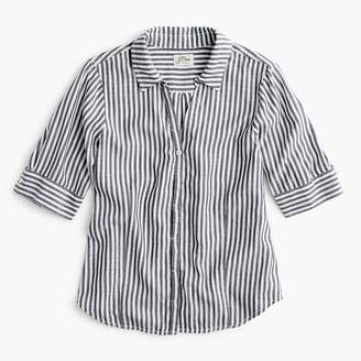 J.Crew Tall short-sleeve button-up shirt in stripe