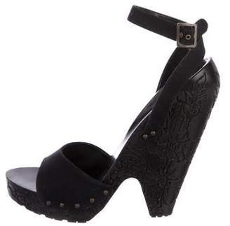 Stella McCartney Platform Ankle Strap Sandals