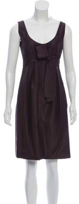 Prada Sleeveless A-Line Knee-Length Dress Sleeveless A-Line Knee-Length Dress