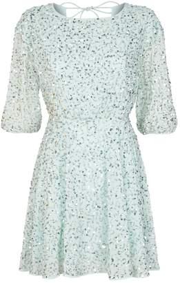 Alice + Olivia Palmira Sequin Dress