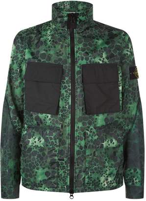 Stone Island Alligator Print Field Jacket