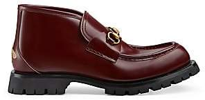 Gucci Men's Leather Ankle Boots