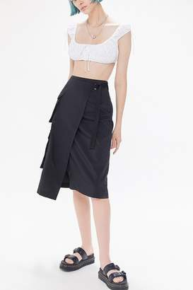 Urban Outfitters Audrey Belted Utility Skirt