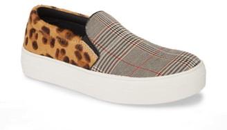 Steve Madden Gills Platform Genuine Calf Hair Slip-On Sneaker
