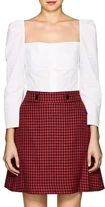 Barneys New York Women's Cotton Poplin Blouse - White