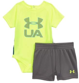 Under Armour Sportster Bodysuit & Shorts Set
