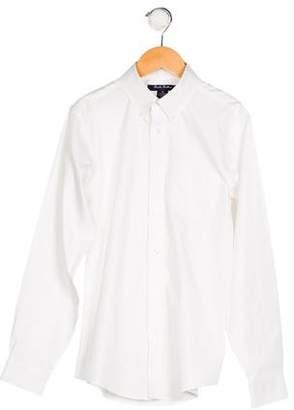 Brooks Brothers Boys' Collar Button-Up Shirt