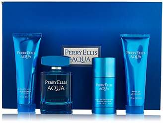 Perry Ellis Aqua Men Gift Set (Eau de Toilette