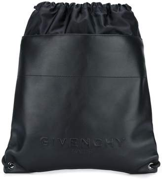 Givenchy logo embossed backpack
