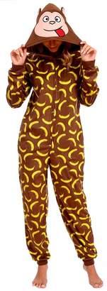 Body Candy Loungewear Women's Adult Animal Onesie Hooded Huggable Fleece