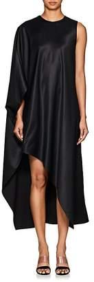 Narciso Rodriguez Women's Draped Satin Asymmetric Dress
