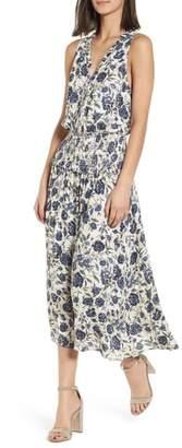 Splendid Floral Smocked Waist Dress