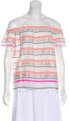 Lemlem Striped Short Sleeve Top