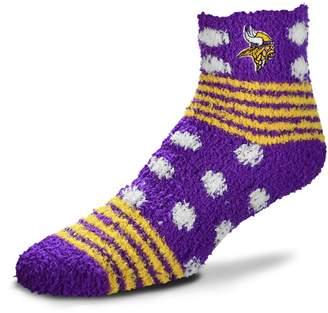 For Bare Feet Women's Minnesota Vikings Home Sleep Socks
