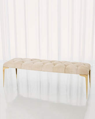Global Views Paola Hairhide Bench