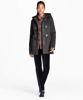 Brooks Brothers Double-Faced Wool-Blend Duffle Coat