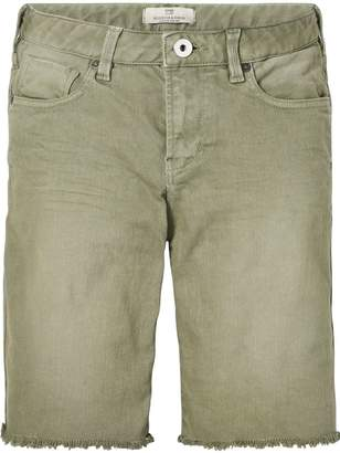 Scotch & Soda Raw-Edge Shorts