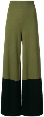 Temperley London Explorer knit trousers