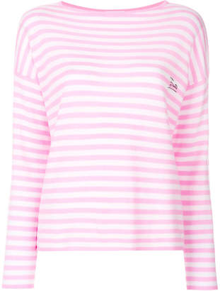Emilio Pucci embroidered logo jumper