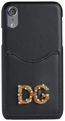 Dolce & Gabbana Leather Card Holder iPhone X Case