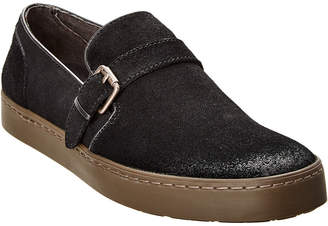 John Varvatos . Suede Slip-On