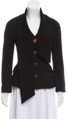 Dolce & Gabbana Asymmetrical Button Up Blazer
