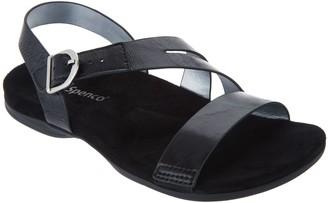 Spenco Orthotic Back-strap Sandals - Roxbury