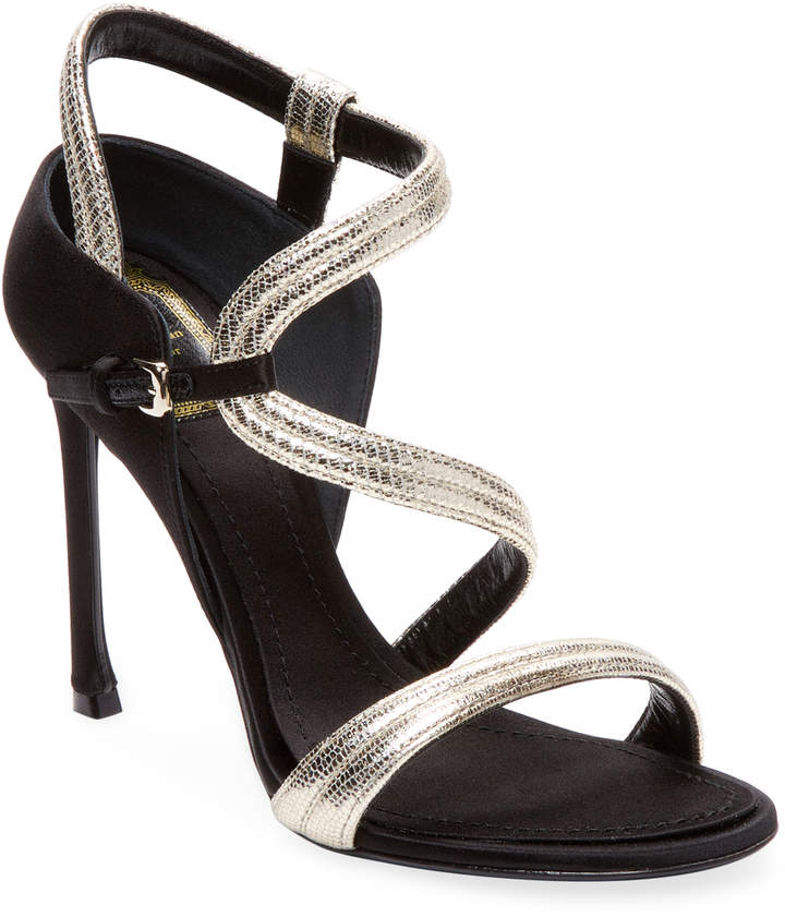 Dior Women's Metallic Slingback Sandals