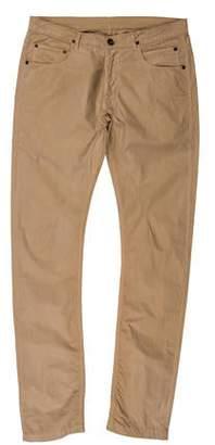 Rick Owens Woven Flat Front Pants