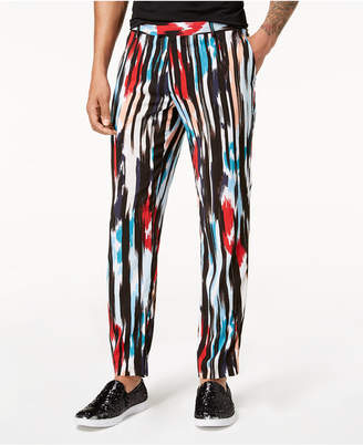 INC International Concepts Mr. Turk x I.N.C. Men's Cropped Ikat Pants, Created for Macy's