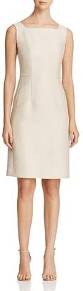Lafayette 148 New York Kosmo Sheath Dress $548 thestylecure.com