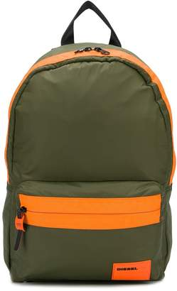 Diesel panelled backpack