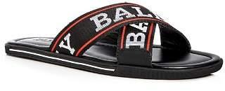 Bally Men's Bonks Logo Slide Sandals